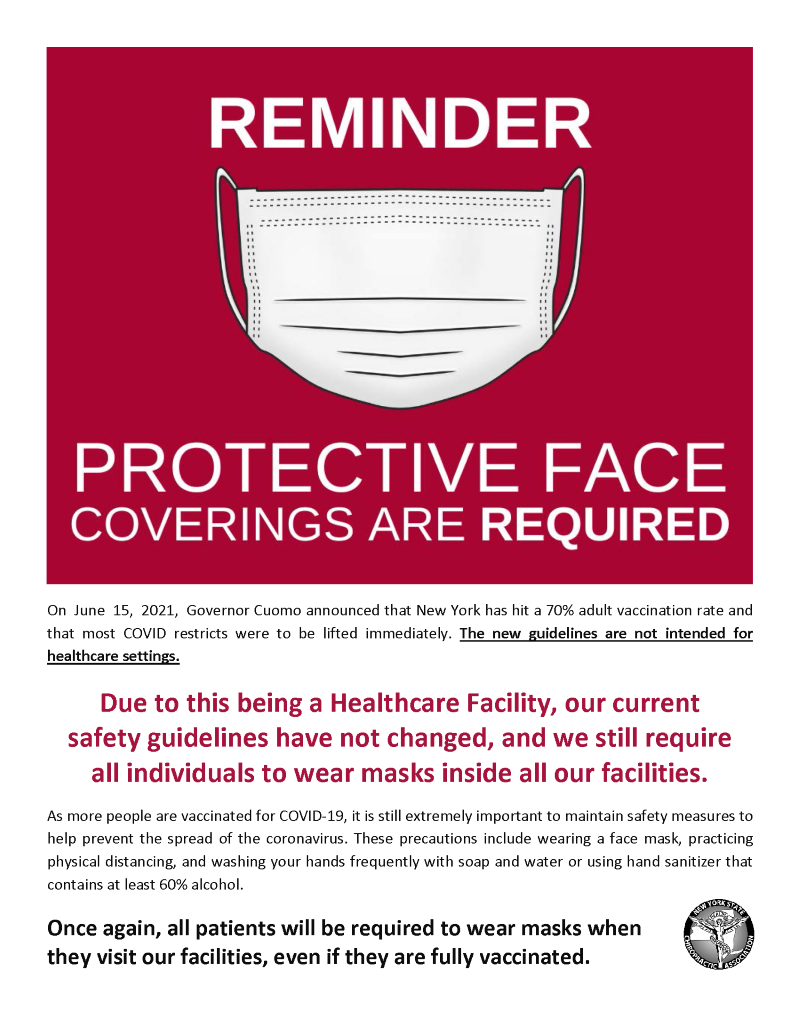 Facemask Poster