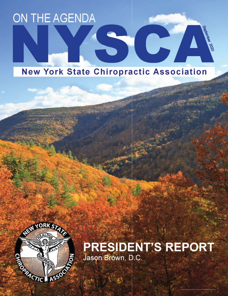 NYSCA Sept 2020 Newsletter